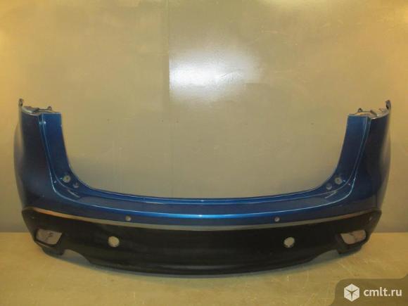 Бампер задний под парктр. MAZDA CX5 11- б/у KD4750221 5*. Фото 1.