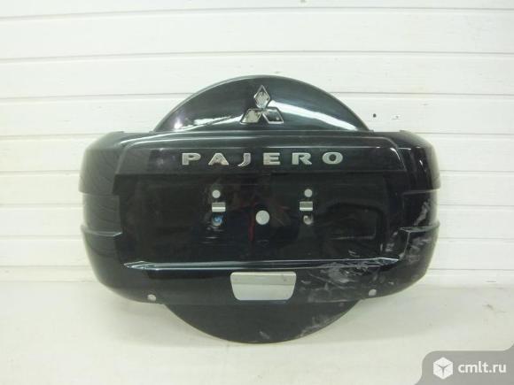 Колпак запасного колеса MITSUBISHI PAJERO V8/V9 07- б/у 6430A082WB 3*. Фото 1.