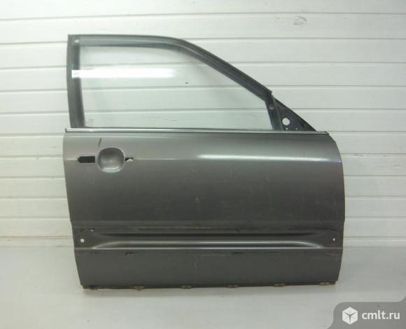 Дверь передняя правая со стеклом AUDI 100/200 44 седан 83-89 б/у 443831052 4*. Фото 1.
