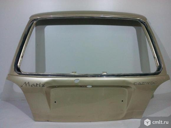Крышка багажника DAEWOO MATIZ 98- б/у 96562464 96570326 96570327 96643621 2*. Фото 1.