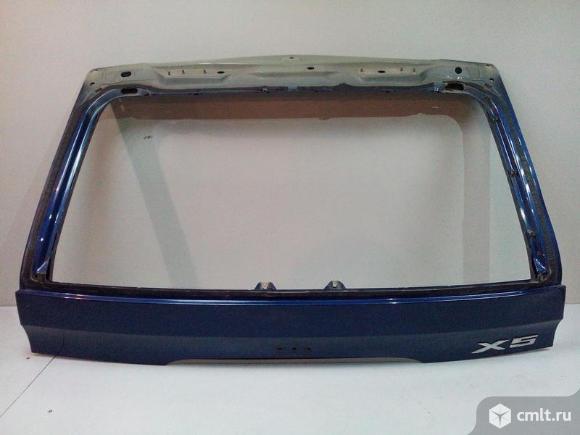 Крышка багажника верхняя BMW X5 E53 00-07 б/у 41627126015 3*. Фото 1.