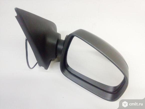 Зеркало правое электро 7 контактов RENAULT LOGAN / SANDERO 14- б/у 963011787R 4*. Фото 1.