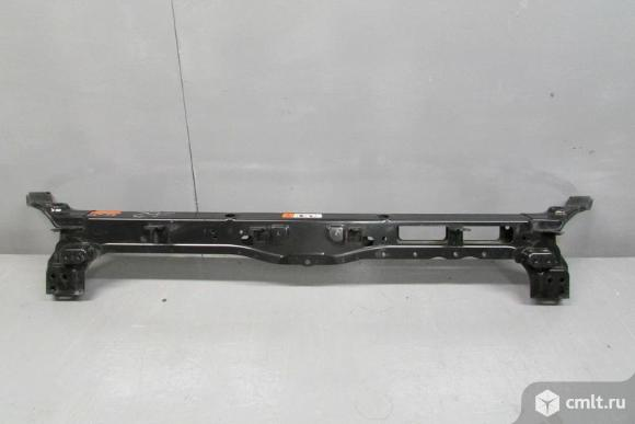 Панель передняя телевизор верхняя часть HYUNDAI SANTA FE 12-  б/у 641012W000 641012W100 5*. Фото 1.