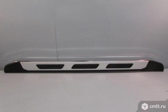 Порог площадка усиленный PORSCHE CAYENNE 10- / VW VW TOUAREG 10- новый AUQ7530025 1шт. Фото 1.