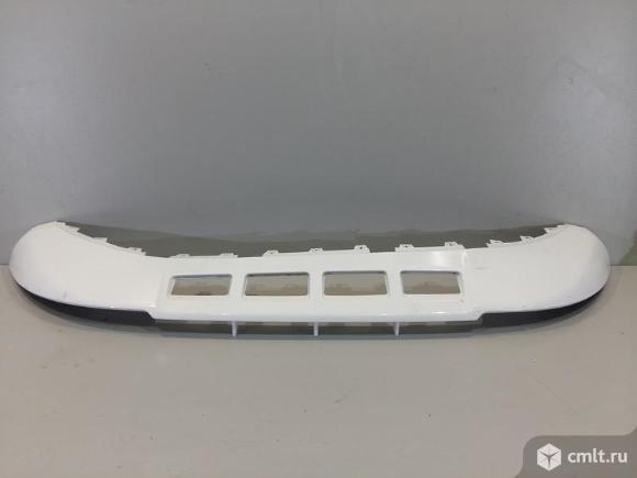 Юбка спойлер бампера переднего AUDI Q5 09-12 б/у 8R0807061C4U8 8R0807061C 3*. Фото 1.