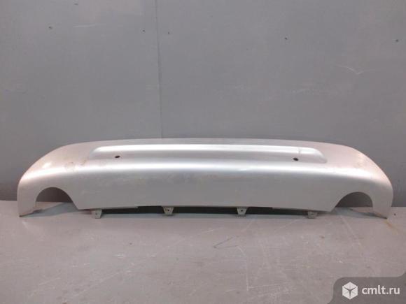 Накладка бампера заднего VOLVO XC70 CROSS COUTRY 08-13 б/у 30698474 4*. Фото 1.