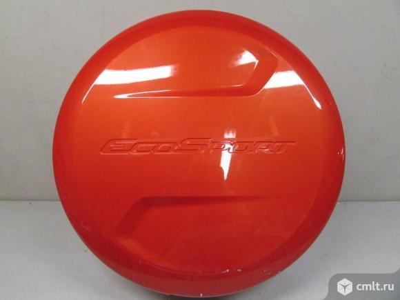 Чехол колпак запасного колеса кожух  FORD ECOSPORT 14- б/у 1837701 2*. Фото 1.