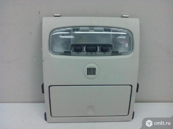 Плафон потолочный салона с лампой передняя FORD MONDEO 03-07 б/у 1256693 4,5*. Фото 1.