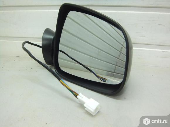 Зеркало правое электро, обогрев, большое  RENAULT LOGAN 08-. Фото 1.