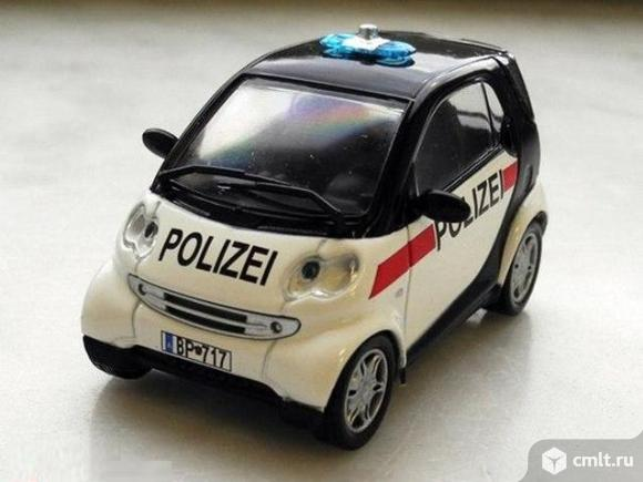 Полицейские машины мира №45 SMART CITY COUPE,полиция австрии. Фото 1.