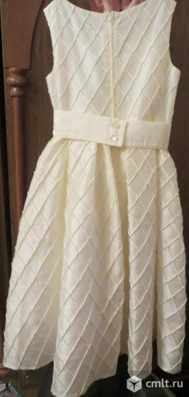 Платье нарядное-праздничное. Фото 1.