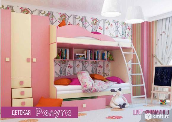 Кровать детская радуга