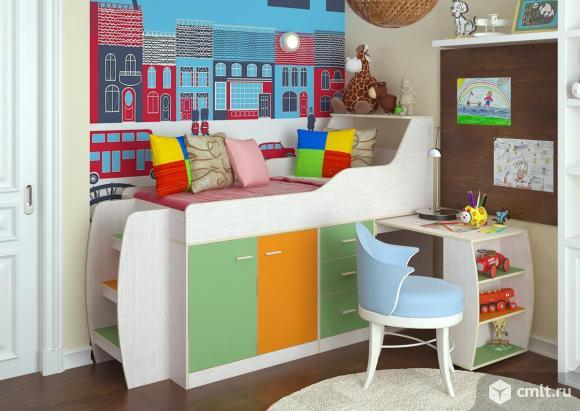 Минимакс кровать стол детская