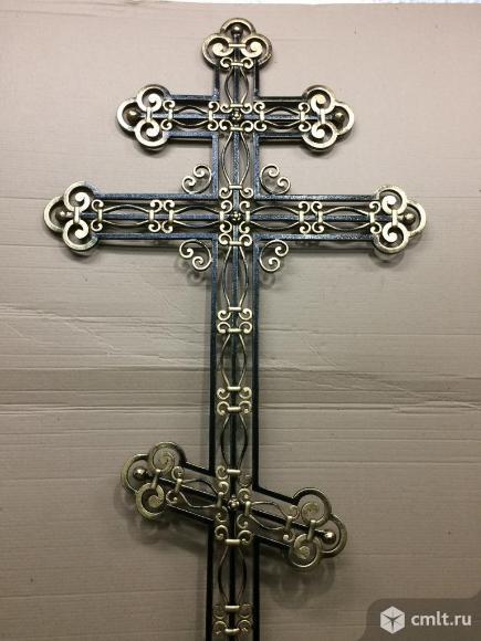 Кованый крест.. Фото 1.