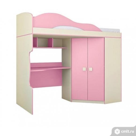 Кровать 2 этаж+шкаф