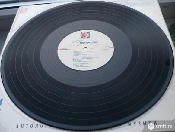 "Грампластинка (винил). Гигант [12"" LP]. Антология американской музыки (10). (P)(C) 1992 МП Champion.. Фото 8."