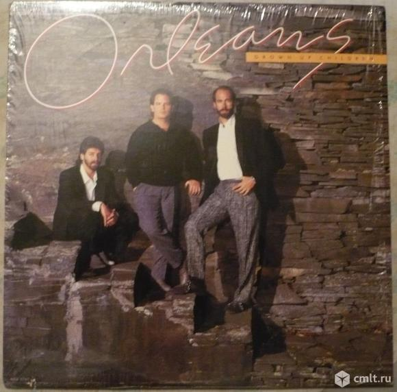 "Грампластинка (винил). Гигант [12"" LP]. Orleans. Grown Up Children. (C)(P) 1986 MCA Records. USA.. Фото 1."