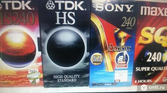 Видеокассеты. Фото 3.