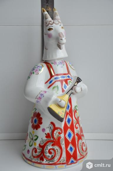 Штоф, статуэтка Коза. Вербилки.