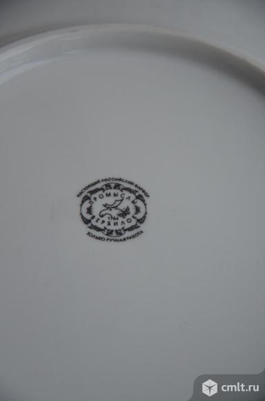 Фарфоровая масленка Курочка ряба. Вербилки. Фото 8.