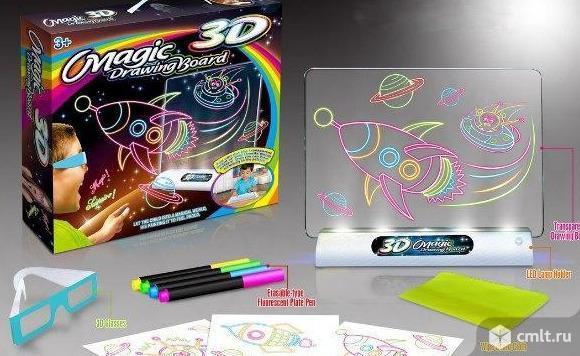 Доска для рисования 3D новые бесплатная доставка