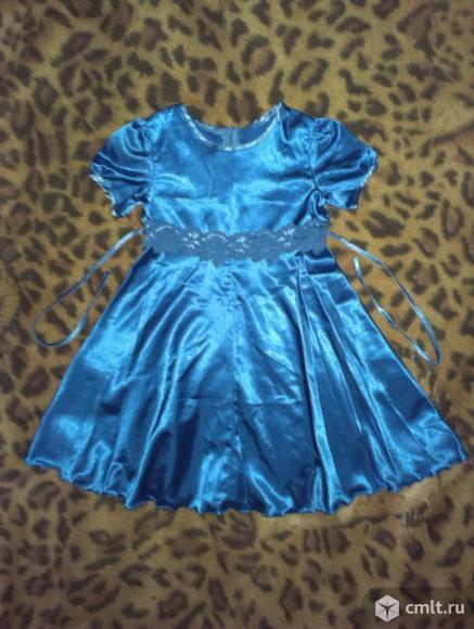 Нарядное праздничное платье рост 110-116 см