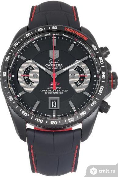 Часы Tag Heuer Grand Carrera новые бесплатная доставка. Фото 1.