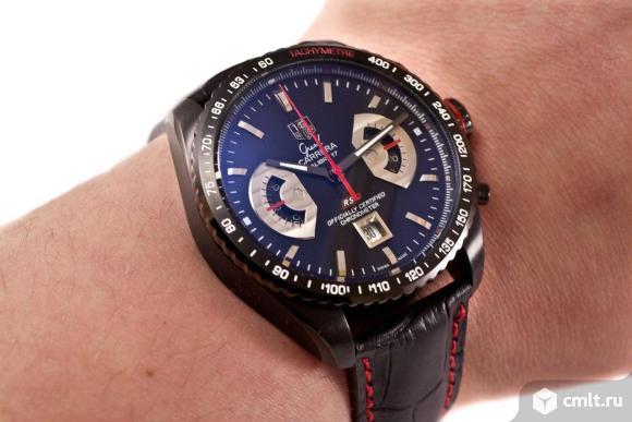 Часы Tag Heuer Grand Carrera новые бесплатная доставка. Фото 2.