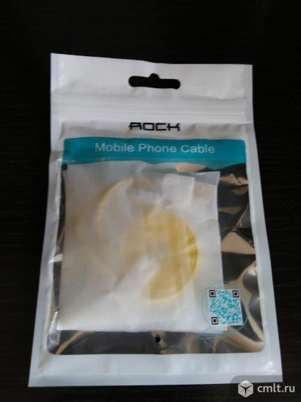 Новый кабель micro usb фирмы Rock 1 метр. Фото 4.