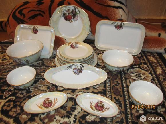 Подарочный десертный сервиз Мадонна 20 предметов. Фото 1.
