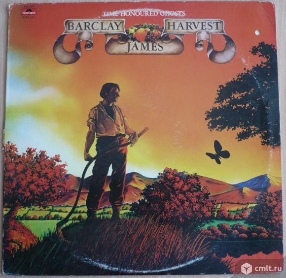"Грампластинка (винил). Гигант [12"" LP]. Barclay James Harvest. Time Honoured Ghosts. 1975. США.. Фото 1."