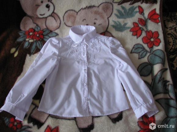 Блузка для школы. Фото 1.