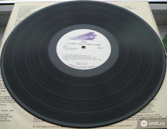 "Грампластинка (винил). Гигант [12"" LP]. The Moody Blues. Seventh Sojourn. 1972 Threshold Records.. Фото 8."
