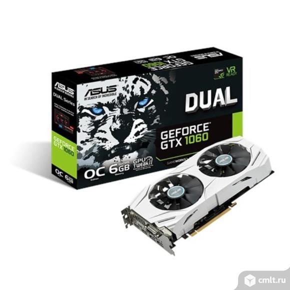 Видеокарта ASUS GeForce GTX 1060 3Gb. Фото 1.
