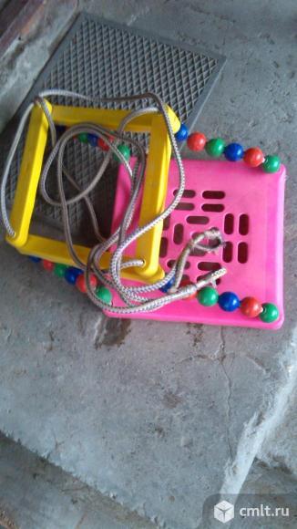 Продам качели детские подвесные, лестница подвесная. Фото 6.
