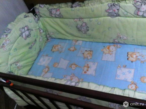 Детская кроватка от 0 до 4 лет.