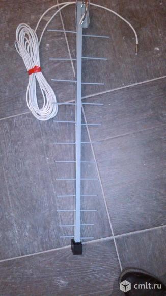 """Антенну с кабелем """"Логос-9"""" для бытовых и сотовых телефонов. Фото 1."""