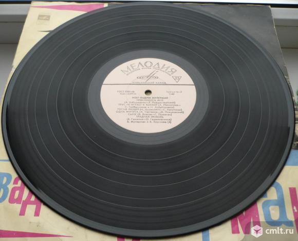 "Грампластинка (винил). Гигант [12"" LP]. Вадим Мулерман, Вероника Круглова. Мелодия, 1971. Д 029933-4. Фото 8."
