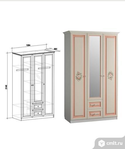 Шкафы  для детской комнаты  девочки.
