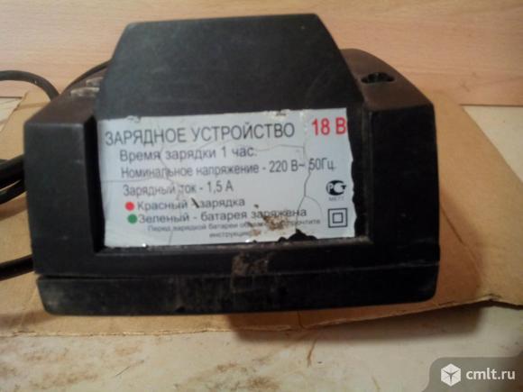 Зарядное устройство 14.4; 18 В для Интерскола шуруповерта