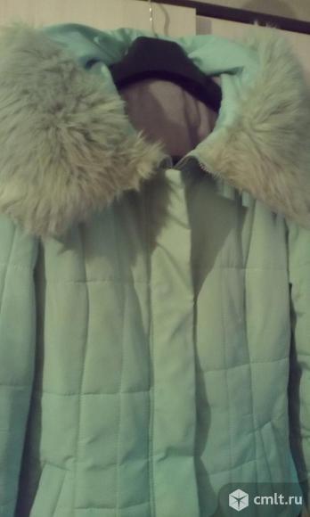 Куртка с капюшоном, утепленная, р.46
