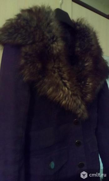 Куртка утепленная, вельветон, р. 44