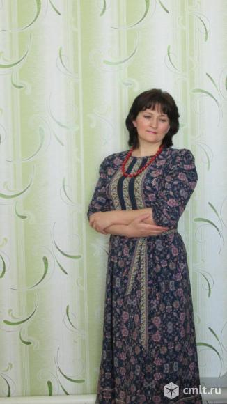 Платье в русском стиле. Фото 2.
