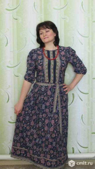 Платье в русском стиле. Фото 1.