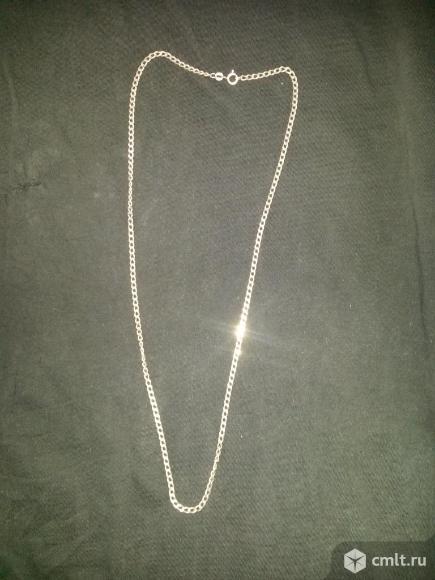 Цепочка серебряная. Фото 1.