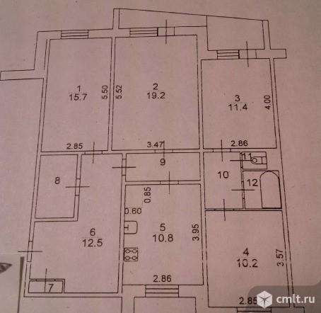 4-комнатная квартира 96,3 кв.м