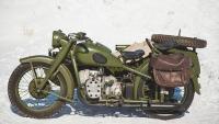 Запчасти на мотоцикл М-72.