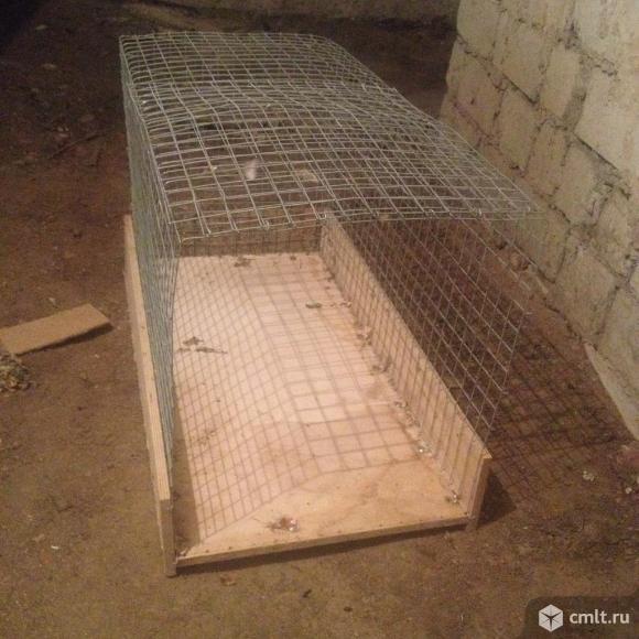 Клетка для животных. Фото 1.