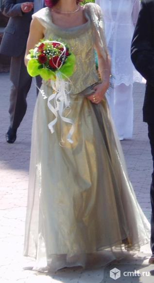 Платье вечернее, свадебное, можно на выпускной вечер. Фото 6.