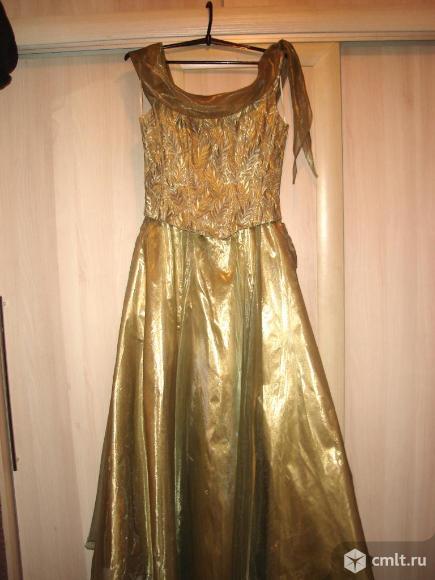 Платье вечернее, свадебное, можно на выпускной вечер. Фото 1.